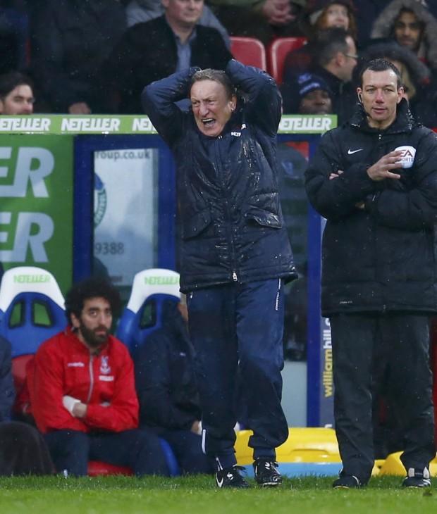 Neil Warnock, técnico demitido do Crystal Palace em dezembro do ano passado