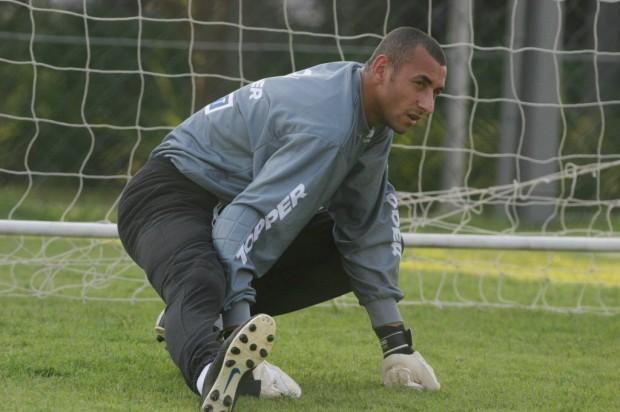 Em treino do Cruzeiro, que faturou MIneiro, Copa do Brasil e Brasileiro em 2003 (Fernando Santos  - 23.set.2003/Folha Imagem)