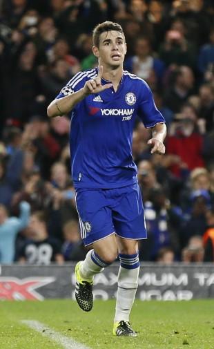 Oscar, do Chelsea, não faz um gol desde 16 de setembro (Stefan Wermuth Livepic - 16.set.2015/Reuters)