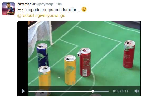 (Reprodução/ Twitter Neymar)