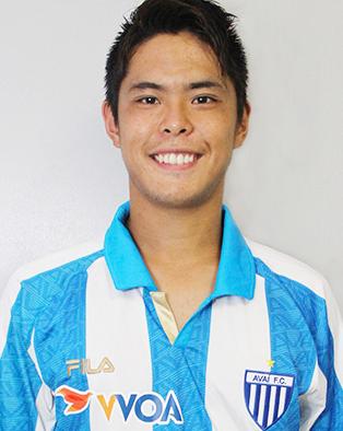 Toshi, 23 anos, o japonês do Avaí (Reprodução/Site do Avaí FC)