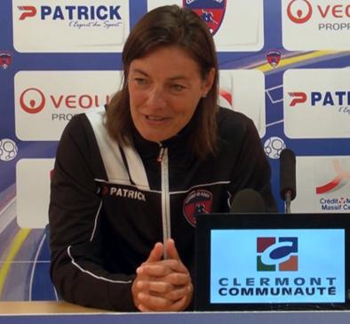 Corinne Diacre, treinadora do Clermont Foot, da França (Reprodução/Site do Clermont Foot)
