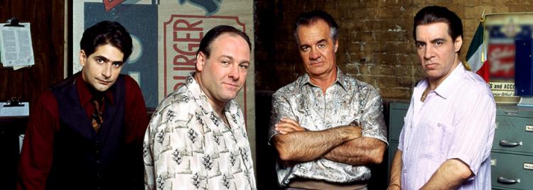 """Parte do elenco de """"Família Soprano"""", famosa série de TV (Reprodução/Site HBO)"""