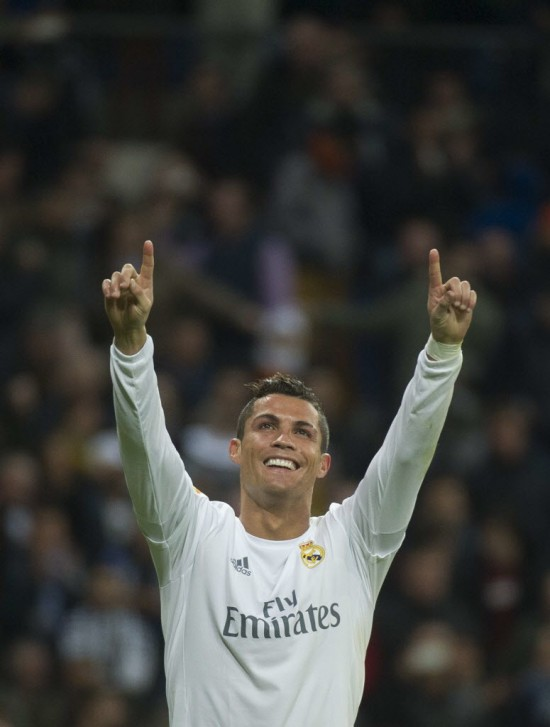 Cristiano Ronaldo, do Real Madrid (Curto De La Torre - 31.jan.2016/AFP)