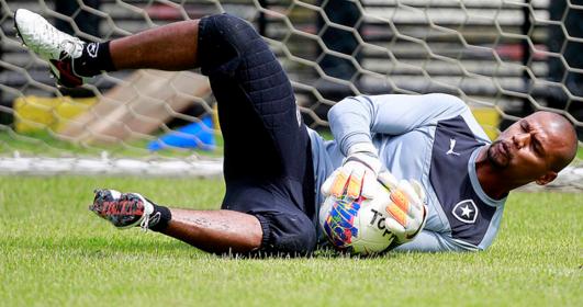 Jefferson, do Botafogo, descartado por Dunga para os jogos contra Uruguai e Paraguai (Vítor Silva/SSPress/Botafogo)