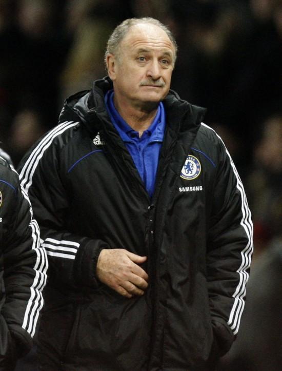 Felipão não teve vida longa no Chelsea (Jon Super - 9.fev.2009/Associated Press)