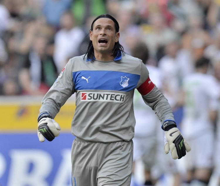 Wiese, em jogo da BUndesliga, quando defendia o Hoffenheim (Martin Meissner - 25.ago.2012/Associated Press)