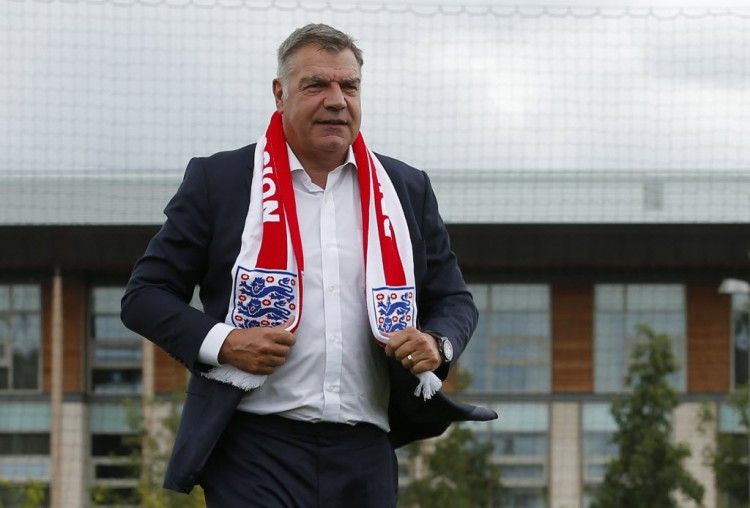 Britain Football Soccer - England - Sam Allardyce Press Conference - Hilton Hotel, St. George's Park, Burton upon Trent, Staffordshire - 25/7/16 England manager Sam Allardyce after the press conference Action Images via Reuters / Andrew Couldridge Livepic