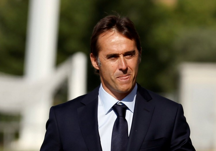 Presentation of new national team soccer coach - Las Rozas, near Madrid, Spain - 21/7/16 - Spain's newly appointed national soccer coach Julen Lopetegui arrives in Las Rozas. REUTERS/Andrea Comas ORG XMIT