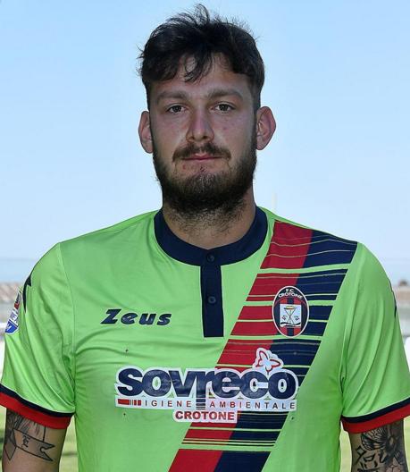 Marco Festa, do Crotone, time da primeira divisão na Itália (Reprodução/Site do FC Crotone)