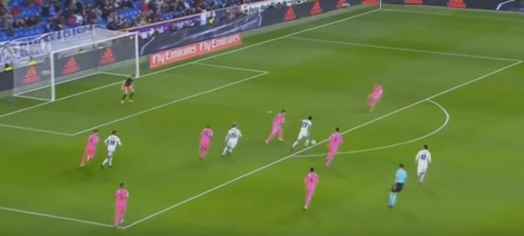A jogada bem trabalhada e o gol de Enzo, filho de Zidane, na Copa do Rei (Reprodução/YouTube)