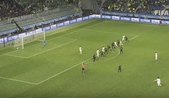 O lance que mereceu reavaliação do árbitro de vídeo em Kashima x Atlético Nacional (Reprodução/Site da Fifa)